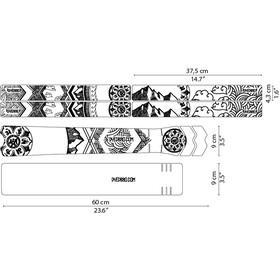 DYEDBRO Mandala Kit di Protezione del Telaio, trasparente/nero